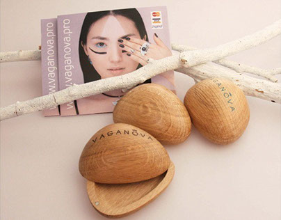Package for jewelry brand VAGANOVA