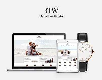 DW website Redesign (psd)