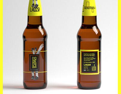 POCHEMUCKA beer branding