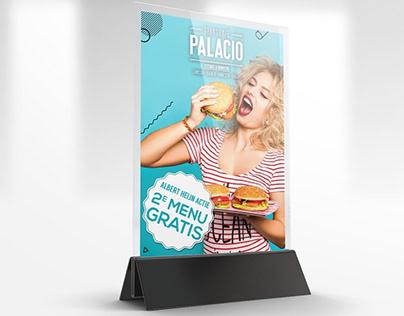Grand Café Palacio   Flyer