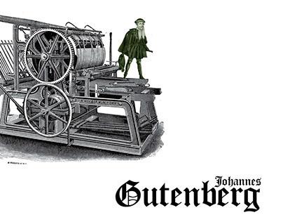 Johannes Gutenberg Children's Book