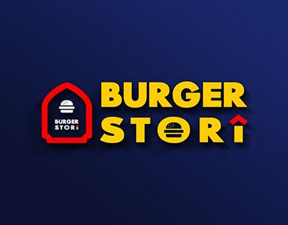 Burger Story Logo Design