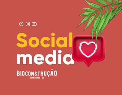 Social Media - Bioconstrução