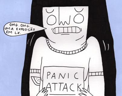 """Panic Attack"" Solo Exhibition"