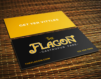 The Flagon - Food Truck Branding