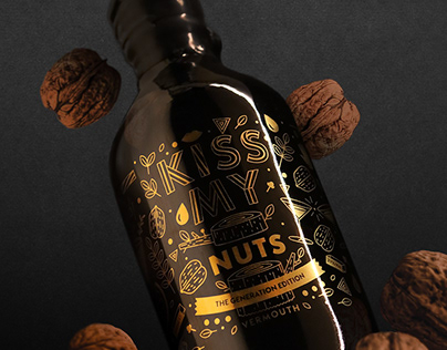Kiss My Nuts - Limited Edition Bottle