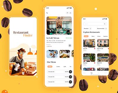 """""""Restaurant Finder App """""""