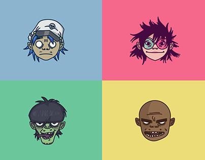 Gorillaz emoji