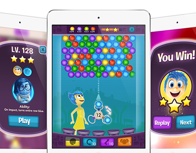Inside Out: Thought Bubbles UI