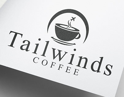 Airport Coffee Shop Logo