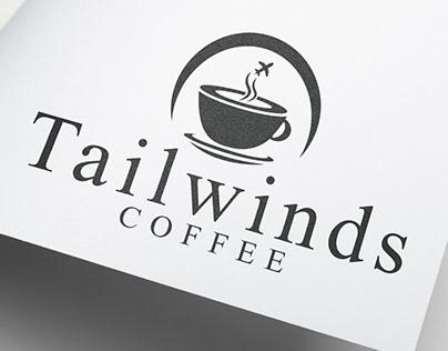 Airport Coffee Shop Logo
