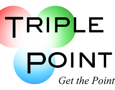 Triple Point branding, logo, and website