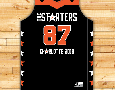 The Starters 3 Point Contest Uniform