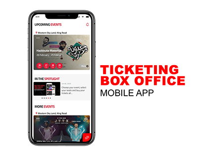 Mobile app concept for ticketing