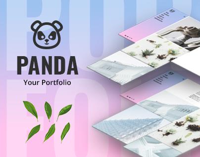 Panda | Portfolio Theme