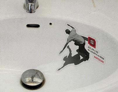 ARTE CORE - Skate Sticker