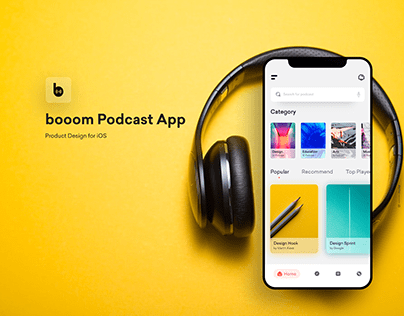 booom | Podcast App UX Case Study
