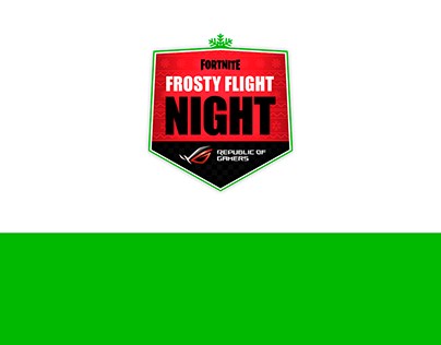 Asus Frosty Flight Night - Social Media & Prod. Design