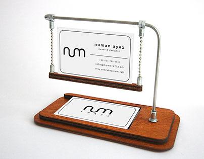Business Card Open