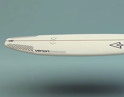 3D animation - Venon Surfboards