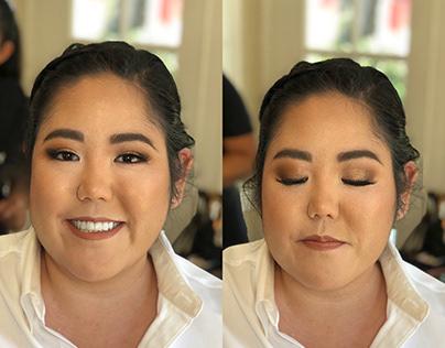 Bridal Makeup - Cathi