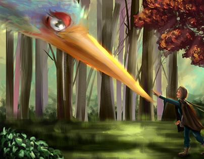 The Legend of Phoenix Concept Art