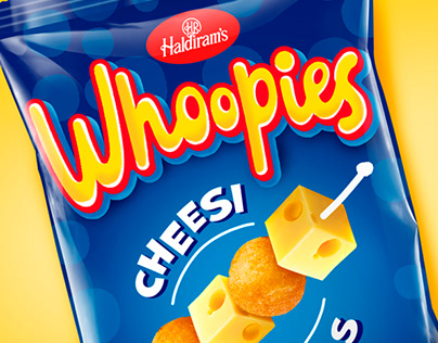 "Design concept of TM chips ""Whoopies"" for children"