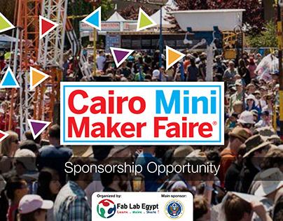 Cairo Mini Maker Fair Sponsorship Prososal