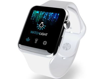 Watch Lamp - iWatch UX / UI Design