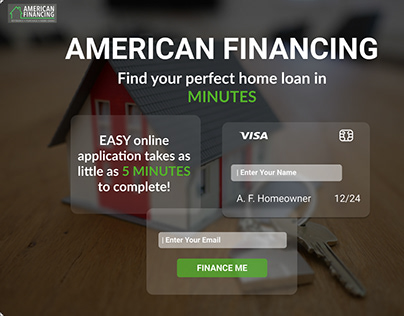 Financial Corp. Landing Page