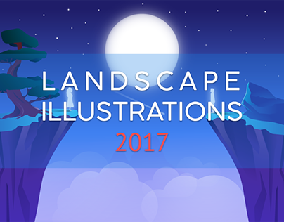 Landscape Illustrations 2017