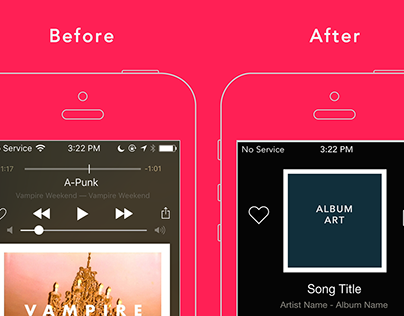 Apple Music - User Interface Redesign