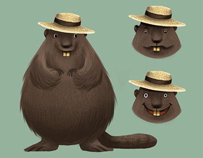Forest animals (children's illustration)