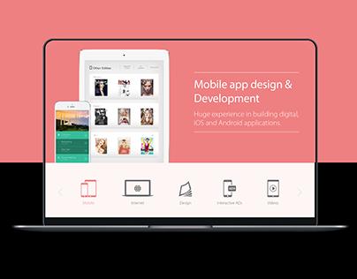 IVY Interactive Website