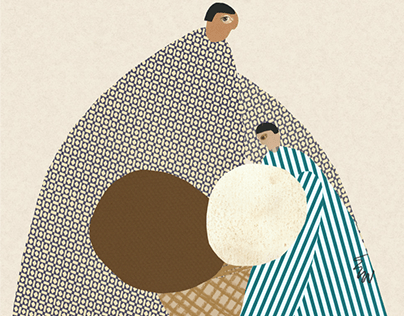 Children's Book Illustration - Kuklacı Pino