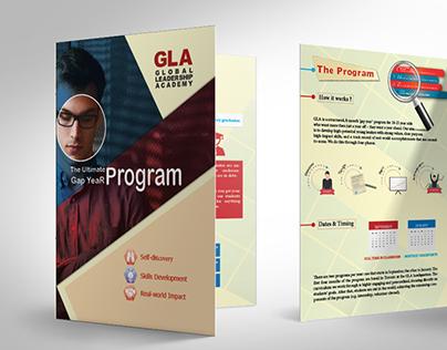 GLA Academy Bifold , Brochure