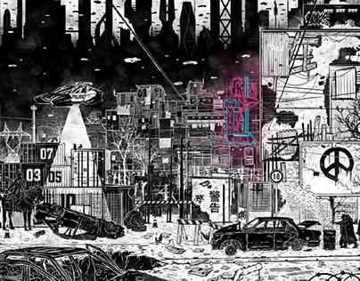 - ZIZKOV 2085 - The Abandoned Area_limited prints