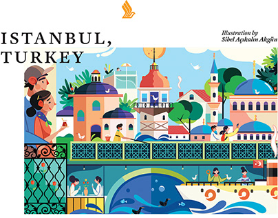 Singapore Airlines-SilverKris Magazine Turkey-İstanbul