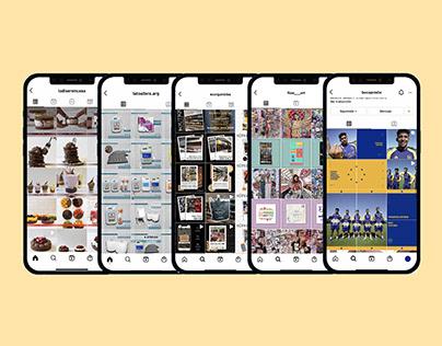 Diseños Redes Sociales - Feed Instagram / Social Media