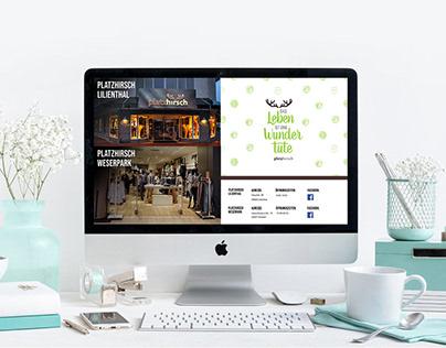 Website Design Platzhirsch