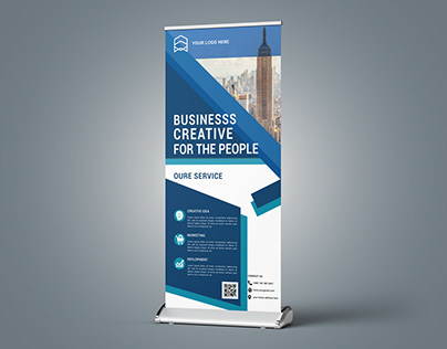 Business Roll- Up Banner Design