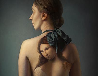 'Flora', oil on canvas