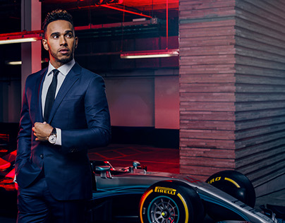 Lewis Hamilton for Vanity Fair