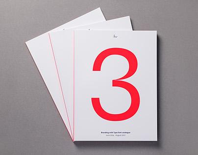 Bw font catalogue 2014-2017