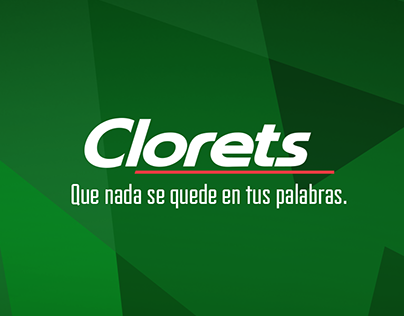 Nothing stays on your words - Clorets