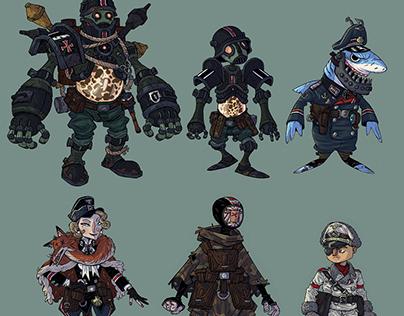 Character design work