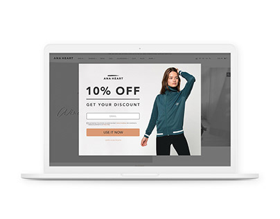 SUBSCRIPTION BANNER POPUP - Fashion Brand - Concept