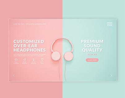 E-Commerce Website Design Exploration