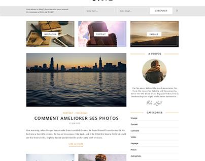 Webdesign - Photography Blog