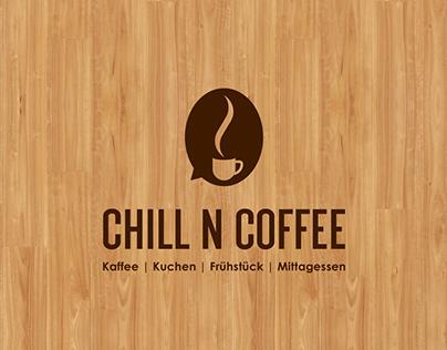 Logo, Chill N Coffee
